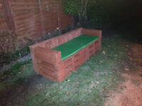 Garden sofa, garden furniture, delivery available.Pallet sofa.£145