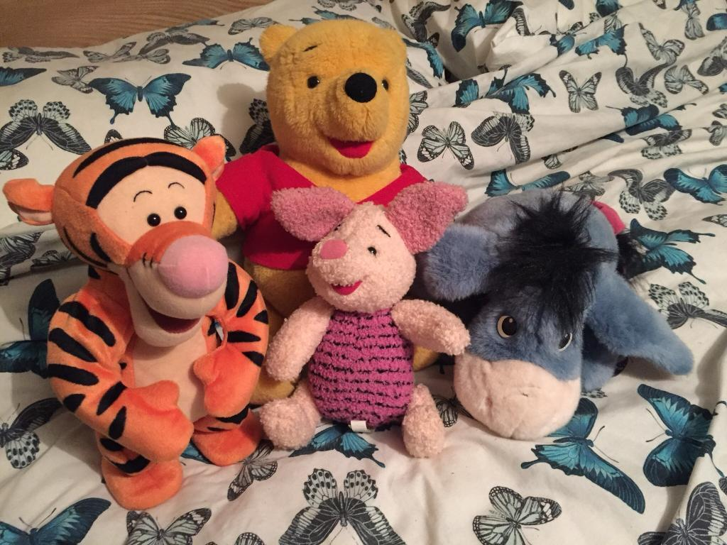 Winnie The Pooh 90's talking toys