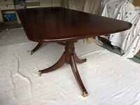 Dining Table - Reproduction Regency Style