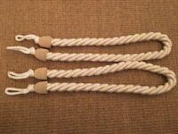 Laura Ashley Curtain Tie Backs - 1 pair AS NEW RRP £15 each
