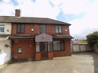 THREE BED. CORNER PLOT. CUL-DE-SAC POSITION. NEWLY DECORATED. POTENTIAL TO EXTEND. £159,950
