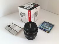 Canon 28mm f/1.8 USM mint condition