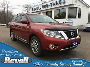 2014 Nissan Pathfinder SL 4WD * 1-Owner  Only 18K  Power Moonroo