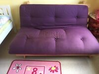 Wooden based futon