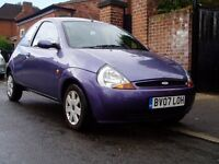 2007 Ford KA 1.3 Style. 57000 Miles. Service History. Mot March 2017. 1 Previous Owner.