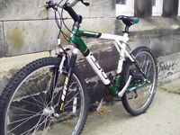GT Arrowhead adult mountain bike - front suspension - 24 speed
