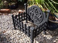 Cast Iron Dog Grate.