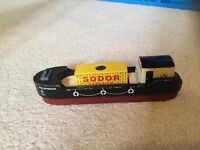 Thomas the Tank Engine wooden Bulstrode the Barge