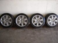 "VW T5 19"" Range Rover Wheels."
