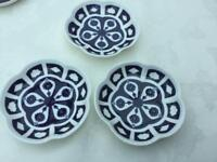 Royal crown derby unfinished Imari dishes