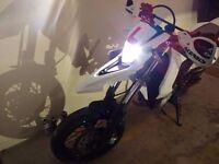 Yamaha WR125X supermoto 2014 (WR125R, WR 125, YZF R125, MT125)