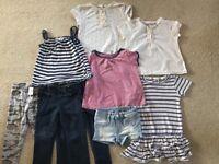 Girls summer bundle age 2 to 3