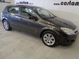 2009 Vauxhall Astra 1.6 16v Design 115 Grey Leather History MOT 5door HPi Clear £1799 Lady Dr Owned