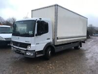 MERCEDES 815 ATEGO BOX TRUCK EXCELLENT JUST OUT OF TEST 2005