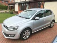 VW Polo Match 1.2 petrol, Silver, 5 speed manual