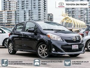 2014 Toyota Yaris SE// ALLOYS// ONLY 23 KM!!