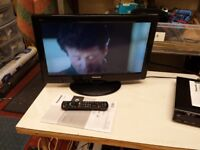 Panasonic 22 inch Widescreen HD Ready LCD TV with built in Freeview (includes remote and manual)