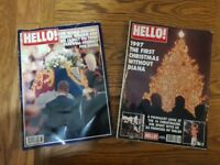 Princess Diana special editions HELLO magazines