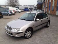 AUTOMATIC ROVER 25 2001 5 DOOR. CD PLAYER. MOT . SUPERB DRIVE . SOLID LITTLE RUN AROUND