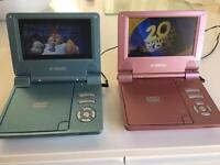 Portable DVD players.