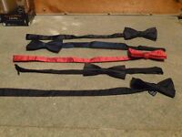 5 Bow ties, in perfect condition