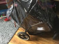 Phil & teds tandem double/twin pram/stroller/pushchair