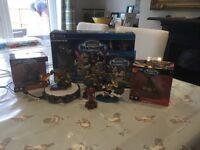 Sky landers imaginators game, portal and figures