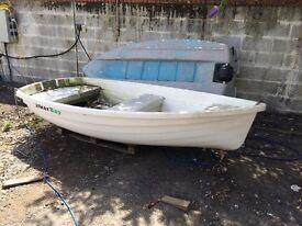 WALKER BAY 10 dinghy. Surplus yacht tender. Oars not included in sale.