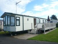 Static, 3 bedroomed family caravan, prime location on 5-star Far Grange Leisure Park