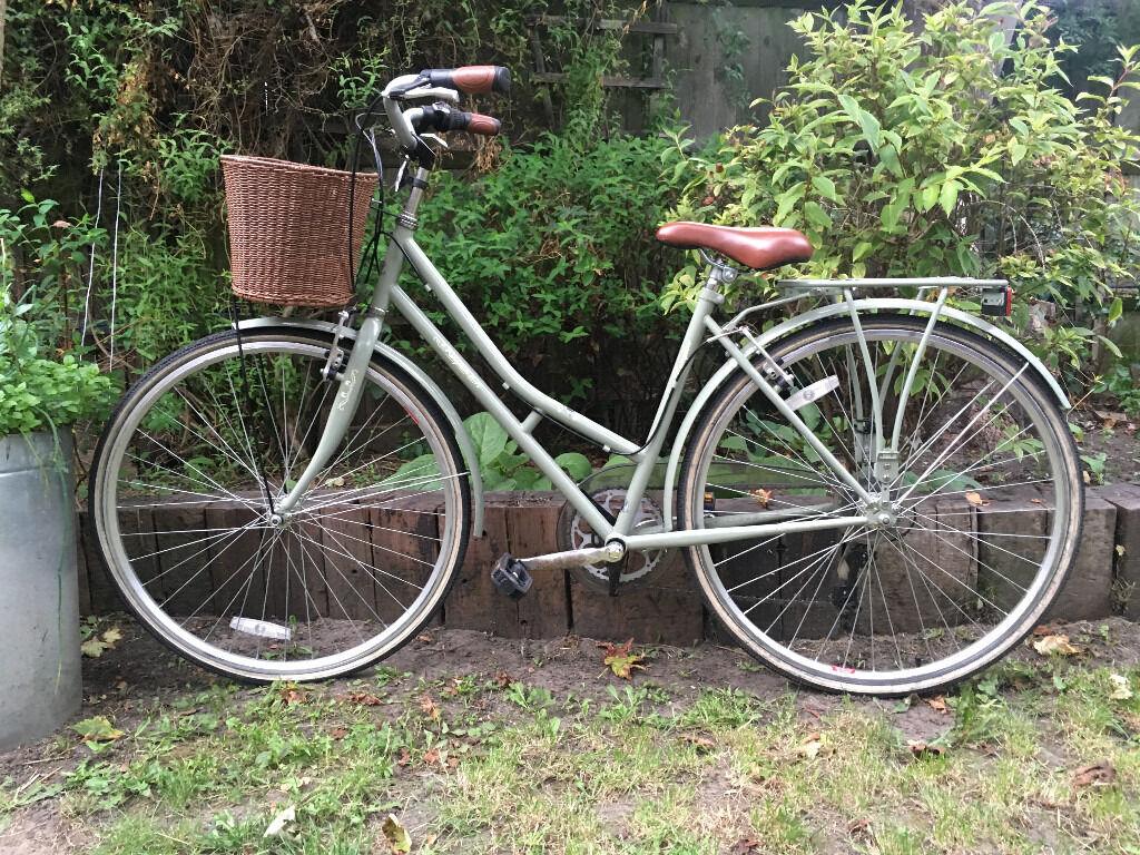Kingston Hampton 19 Inch Frame Hybrid Bike Sage - Ladies\'   in ...