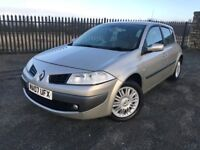 2007 07 RENAULT MEGANE 1.6 VVT 5 DOOR - *ONLY ONE FORMER KEEPER* - MAY 2018 M.O.T - GOOD EXAMPLE!