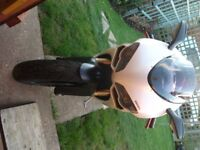 Ducati 848 in white, 21000 miles, good condition for the year, new tyres, service history