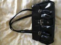 M&S black Paton bag