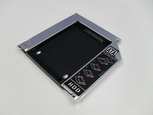 Apple Macbook Pro Unibody 2nd HDD SSD SATA hard drive caddy optibay superdrive
