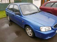 2002 Hyundai Accent 1.3 - only 78k miles