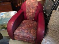 1940s retro armchair