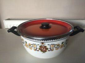 Enamelware Cooking Pot