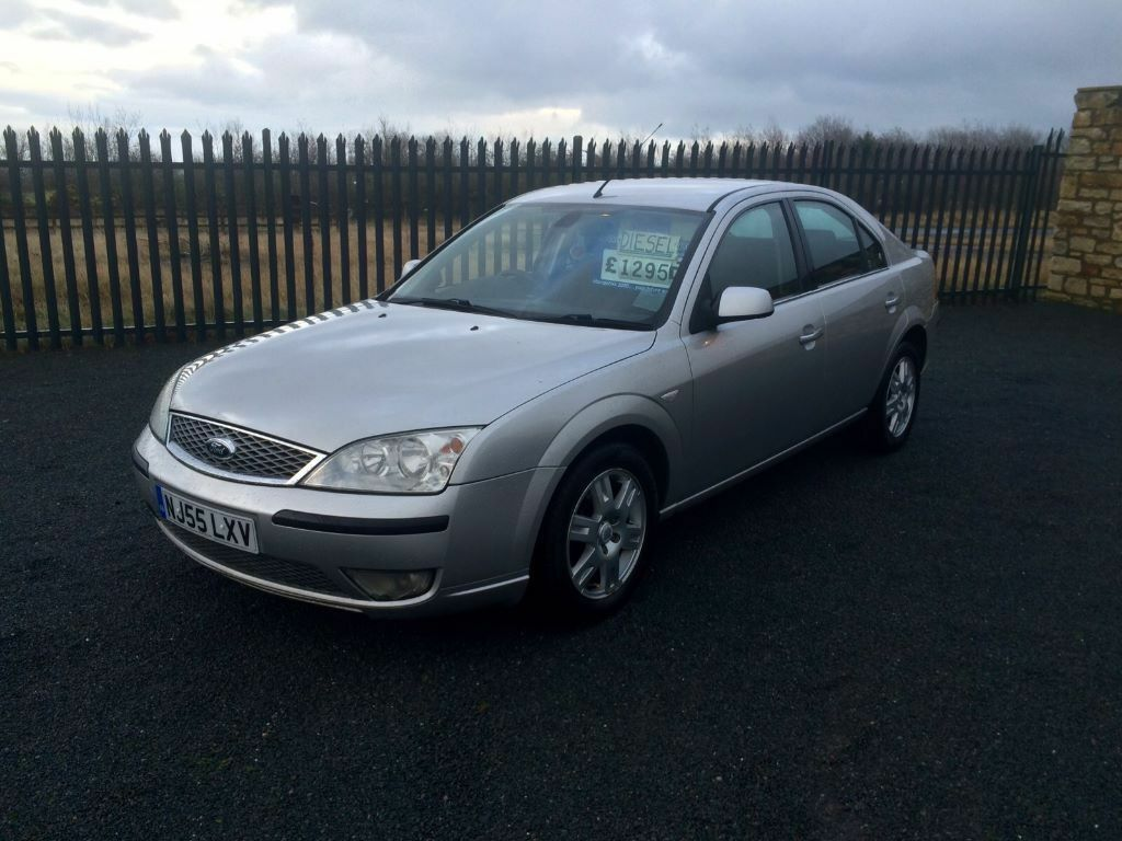2005 55 ford mondeo 2 0 tdci ghia diesel 5 door hatchback 6 speed manual ideal family. Black Bedroom Furniture Sets. Home Design Ideas