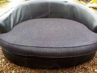 DFS black cord corner sofa, great condition, very comfortable.