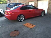 BMW 320D M SPORT 177 RED 3 DOOR
