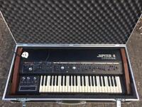 Roland Jupiter 4 Synthesizer with Swan Flight Case