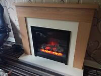 oak fire surround 6 month old