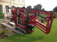CHERRY PICKER ACCESS SPIDER LIFT HIRE WITH I.P.A.F OPERATOR WITH LABOUR INCLUDED WORKING @ HEIGHT