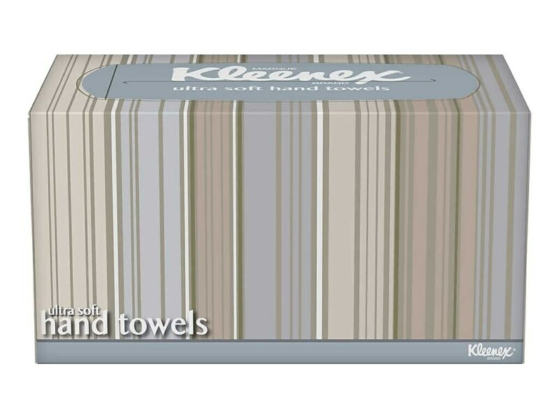 Kleenex Ultra Soft Single Fold Paper Towels 1-Ply 70 Sheets per Box (11268)