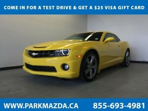 2012 Chevrolet Camaro RWD - Bluetooth, Remote Start, Backup Cam,