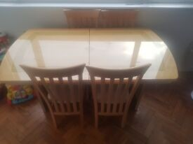 Dining Table and Chairs for sale £70