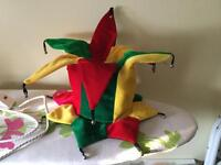 Jester style party hat