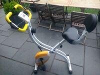 Ultrasport Exercise Bike (hardly used)