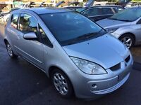2007/07 MITSUBISHI COLT 1.3 CZ2 3 DOOR SILVER HATCHBACK, IN EXCELLENT CONDITION,ECONOMICAL TO RUN