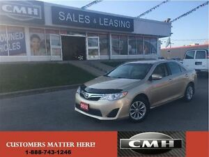 2012 Toyota Camry LE HTD-SEATS BT *CERTIFEID*